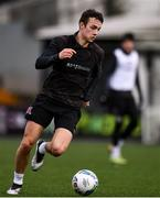 2 February 2021; Jamie Wynne during a Dundalk Pre-Season training session at Oriel Park in Dundalk, Louth. Photo by Ben McShane/Sportsfile