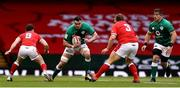 7 February 2021; James Ryan of Ireland in action against Tomos Williams and Tomas Francis of Wales during the Guinness Six Nations Rugby Championship match between Wales and Ireland at the Principality Stadium in Cardiff, Wales. Photo by Chris Fairweather/Sportsfile