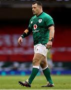 7 February 2021; Cian Healy of Ireland during the Guinness Six Nations Rugby Championship match between Wales and Ireland at the Principality Stadium in Cardiff, Wales. Photo by Chris Fairweather/Sportsfile