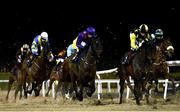 12 February 2021; Runners and riders during the Dundalkstadium.com Apprentice Handicap (Div 1) at Dundalk Racecourse in Louth. Photo by Harry Murphy/Sportsfile