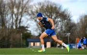 15 February 2021; Adam Byrne during Leinster Rugby squad training at UCD in Dublin. Photo by Ramsey Cardy/Sportsfile