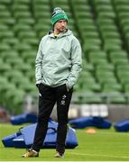 14 February 2021; Ireland assistant coach Mike Catt prior to the Guinness Six Nations Rugby Championship match between Ireland and France at the Aviva Stadium in Dublin. Photo by Brendan Moran/Sportsfile