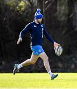 15 February 2021; Harry Byrne during Leinster Rugby squad training at UCD in Dublin. Photo by Ramsey Cardy/Sportsfile