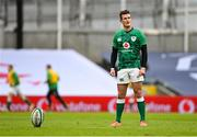 14 February 2021; Billy Burns of Ireland during the Guinness Six Nations Rugby Championship match between Ireland and France at the Aviva Stadium in Dublin. Photo by Ramsey Cardy/Sportsfile