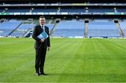 16 February 2021; Ard Stiúrthóir of the GAA Tom Ryan pitchside at Croke Park in Dublin after a remote media briefing announcing the 2020 GAA Annual Report and Financial Accounts. Photo by Brendan Moran/Sportsfile