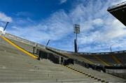 16 February 2021; A general view of the Hill 16 terrace at Croke Park in Dublin. Photo by Brendan Moran/Sportsfile