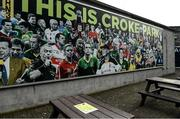 16 February 2021; A general view of Covid-19 signage at Croke Park in Dublin. Photo by Brendan Moran/Sportsfile