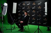 20 February 2021; Gearóid Hegarty of Limerick is interviewed after receiving his PwC GAA/GPA Hurler of the Year award for 2020. Photo by Brendan Moran/Sportsfile