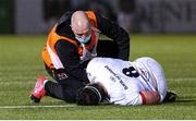 19 February 2021; Marcell Coetzee of Ulster receives medical attention during the Guinness PRO14 match between Glasgow Warriors and Ulster at Scotstoun Stadium in Glasgow, Scotland. Photo by Alan Harvey/Sportsfile