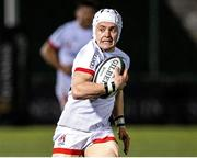 19 February 2021; Michael Lowry of Ulster breaks clear to his side's first try during the Guinness PRO14 match between Glasgow Warriors and Ulster at Scotstoun Stadium in Glasgow, Scotland. Photo by Alan Harvey/Sportsfile