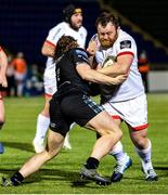 19 February 2021; Andrew Warwick of Ulster is tackled by Tom Gordon of Glasgow Warriors during the Guinness PRO14 match between Glasgow Warriors and Ulster at Scotstoun Stadium in Glasgow, Scotland. Photo by Alan Harvey/Sportsfile