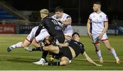 19 February 2021; Andrew Warwick of Ulster is tackled by  Adam Hastings of Glasgow Warriors during the Guinness PRO14 match between Glasgow Warriors and Ulster at Scotstoun Stadium in Glasgow, Scotland. Photo by Alan Harvey/Sportsfile