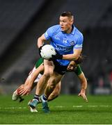 19 December 2020; Con O'Callaghan of Dublin breaks clear of Chris Barrett of Mayo during the GAA Football All-Ireland Senior Championship Final match between Dublin and Mayo at Croke Park in Dublin. Photo by Ray McManus/Sportsfile