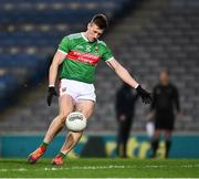 19 December 2020; Cillian O'Connor of Mayo during the GAA Football All-Ireland Senior Championship Final match between Dublin and Mayo at Croke Park in Dublin. Photo by Ray McManus/Sportsfile