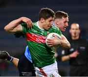 19 December 2020; Lee Keegan of Mayo is tackled by Ciarán Kilkenny of Dublin during the GAA Football All-Ireland Senior Championship Final match between Dublin and Mayo at Croke Park in Dublin. Photo by Ray McManus/Sportsfile