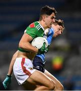 19 December 2020; Tommy Conroy of Mayo is tackled by Michael Fitzsimons of Dublin during the GAA Football All-Ireland Senior Championship Final match between Dublin and Mayo at Croke Park in Dublin. Photo by Ray McManus/Sportsfile
