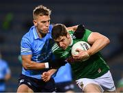 19 December 2020; Lee Keegan of Mayo is tackled by Jonny Cooper of Dublin during the GAA Football All-Ireland Senior Championship Final match between Dublin and Mayo at Croke Park in Dublin. Photo by Ray McManus/Sportsfile