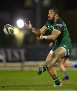 20 February 2021; Bundee Aki of Connacht during the Guinness PRO14 match between Connacht and Cardiff Blues at The Sportsground in Galway. Photo by Piaras Ó Mídheach/Sportsfile
