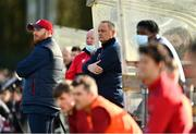 21 February 2021; St Patrick's Athletic first team manager Alan Mathews during the pre-season friendly match between Cork City and St Patrick's Athletic at O'Shea Park in Blarney, Cork. Photo by Eóin Noonan/Sportsfile