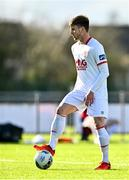 21 February 2021; Cian Kelly of St Patrick's Athletic during the pre-season friendly match between Cork City and St Patrick's Athletic at O'Shea Park in Blarney, Cork. Photo by Eóin Noonan/Sportsfile