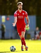 21 February 2021; George Heaven of Cork City during the pre-season friendly match between Cork City and St Patrick's Athletic at O'Shea Park in Blarney, Cork. Photo by Eóin Noonan/Sportsfile