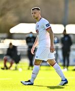 21 February 2021; Jamie Lennon of St Patrick's Athletic during the pre-season friendly match between Cork City and St Patrick's Athletic at O'Shea Park in Blarney, Cork. Photo by Eóin Noonan/Sportsfile