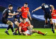 20 February 2021; Gavin Coombes of Munster in action during the Guinness PRO14 match between Edinburgh and Munster at BT Murrayfield Stadium in Edinburgh, Scotland. Photo by Paul Devlin/Sportsfile