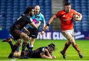20 February 2021; Billy Holland of Munster in action during the Guinness PRO14 match between Edinburgh and Munster at BT Murrayfield Stadium in Edinburgh, Scotland. Photo by Paul Devlin/Sportsfile