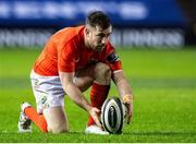 20 February 2021; JJ Hanrahan of Munster in action during the Guinness PRO14 match between Edinburgh and Munster at BT Murrayfield Stadium in Edinburgh, Scotland. Photo by Paul Devlin/Sportsfile