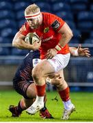 20 February 2021; James Cronin of Munster in action during the Guinness PRO14 match between Edinburgh and Munster at BT Murrayfield Stadium in Edinburgh, Scotland. Photo by Paul Devlin/Sportsfile