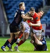 20 February 2021; Chris Farrell of Munster in action during the Guinness PRO14 match between Edinburgh and Munster at BT Murrayfield Stadium in Edinburgh, Scotland. Photo by Paul Devlin/Sportsfile