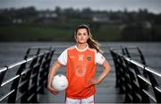 23 February 2021; AIG Insurance is delighted to partner with TG4 and the LGFA to help showcase the Teams of the 2020 All-Ireland Ladies Football Championships and the AIG Goal of the Year competition. Armagh star and nominee for the Players' Player of the Year award, Aimee Mackin is photographed at Camlough Lake ahead of the event. Photo by David Fitzgerald/Sportsfile