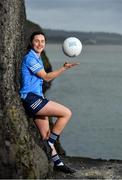 23 February 2021; AIG Insurance is delighted to partner with TG4 and the LGFA to help showcase the Teams of the 2020 All-Ireland Ladies Football Championships and the AIG Goal of the Year competition. Dublin star Lyndsey Davey is photographed at Skerries Harbour ahead of the event. Photo by Seb Daly/Sportsfile