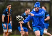 23 February 2021; Peter Dooley during a Leinster Rugby squad training session at UCD in Dublin. Photo by Brendan Moran/Sportsfile