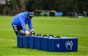 23 February 2021; Kitman Jim Bastick during a Leinster Rugby squad training session at UCD in Dublin. Photo by Brendan Moran/Sportsfile