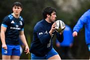23 February 2021; Jimmy O'Brien during a Leinster Rugby squad training session at UCD in Dublin. Photo by Brendan Moran/Sportsfile