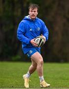 23 February 2021; David Hawkshaw during a Leinster Rugby squad training session at UCD in Dublin. Photo by Brendan Moran/Sportsfile