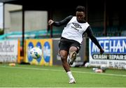 23 February 2021; Ebuka Kwelele during a Dundalk Pre-Season training session at Oriel Park in Dundalk, Louth. Photo by Ben McShane/Sportsfile