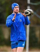 23 February 2021; Ciarán Frawley during a Leinster Rugby squad training session at UCD in Dublin. Photo by Brendan Moran/Sportsfile