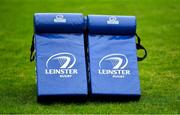23 February 2021; Tackle bags during a Leinster Rugby squad training session at UCD in Dublin. Photo by Brendan Moran/Sportsfile