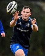 23 February 2021; Greg McGrath during a Leinster Rugby squad training session at UCD in Dublin. Photo by Brendan Moran/Sportsfile