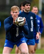 23 February 2021; Jamie Osborne during a Leinster Rugby squad training session at UCD in Dublin. Photo by Brendan Moran/Sportsfile