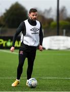 23 February 2021; Andy Boyle during a Dundalk Pre-Season training session at Oriel Park in Dundalk, Louth. Photo by Ben McShane/Sportsfile