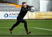 23 February 2021; Peter Cherrie during a Dundalk Pre-Season training session at Oriel Park in Dundalk, Louth. Photo by Ben McShane/Sportsfile