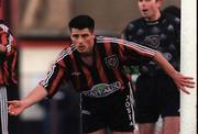 14 August 1998; Robbie Brunton of Bohemians during the Harp Lager League Cup match between Bohemians and Shamrock Rovers at Dalymount Park in Dublin. Photo by Matt Browne/Sportsfile
