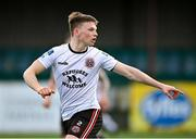 26 February 2021; Andy Lyons of Bohemians during the pre-season friendly match between Dundalk and Bohemians at Oriel Park in Dundalk, Louth. Photo by Seb Daly/Sportsfile