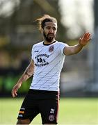 26 February 2021; Bastien Héry of Bohemians during the pre-season friendly match between Dundalk and Bohemians at Oriel Park in Dundalk, Louth. Photo by Seb Daly/Sportsfile