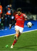 26 February 2021; Joey Carbery of Munster during the Guinness PRO14 match between Cardiff Blues and Munster at Cardiff Arms Park in Cardiff, Wales. Photo by Gareth Everett/Sportsfile