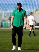 27 February 2021; Ireland head coach Andy Farrell prior to the Guinness Six Nations Rugby Championship match between Italy and Ireland at Stadio Olimpico in Rome, Italy. Photo by Roberto Bregani/Sportsfile