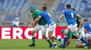 27 February 2021; Tadhg Beirne of Ireland is tackled by Luca Sperandio of Italy during the Guinness Six Nations Rugby Championship match between Italy and Ireland at Stadio Olimpico in Rome, Italy. Photo by Roberto Bregani/Sportsfile